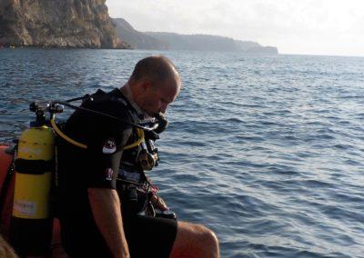 MAIK diving with Scuba Moraira