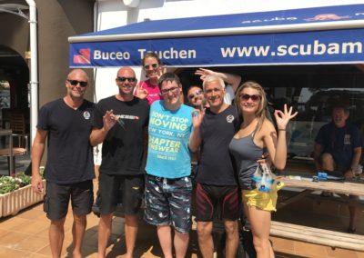 Team at Scuba Moraira