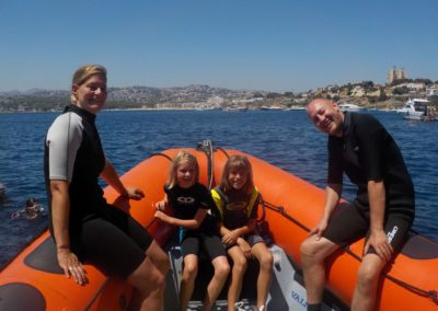 Snorkelling trip with Scuba Moraira
