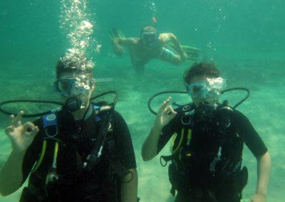 Bapteme de plongée avec Scuba Moraira
