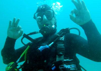 Diving Moraira is fun