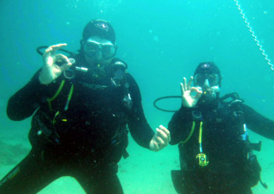 Diving the Med