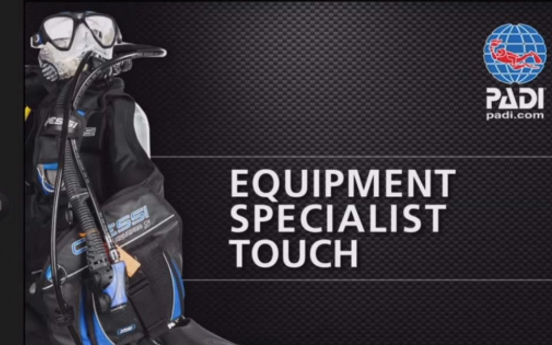 The PADI Equipment Specialist Touch is the ideal Holiday Season gift for any diver.