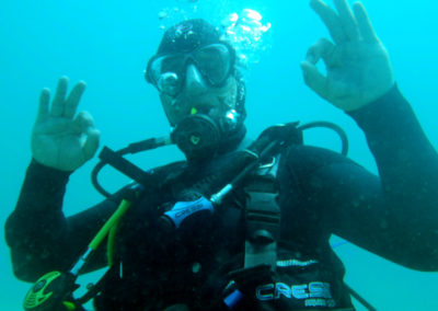 Diving Moraira is fun