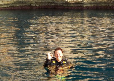 Happy faces at Scuba Moraira