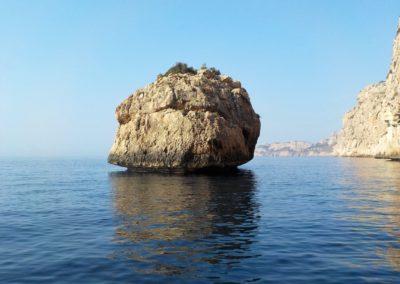 Mushroom Rock Scuba Moraira.